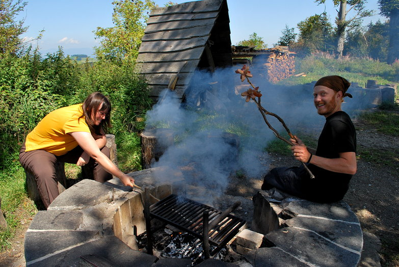 Sausage Roasting