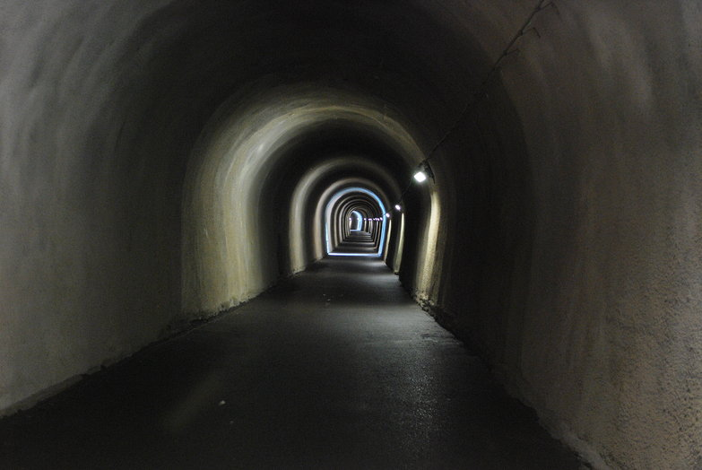 Swiss Bicycle Tunnel