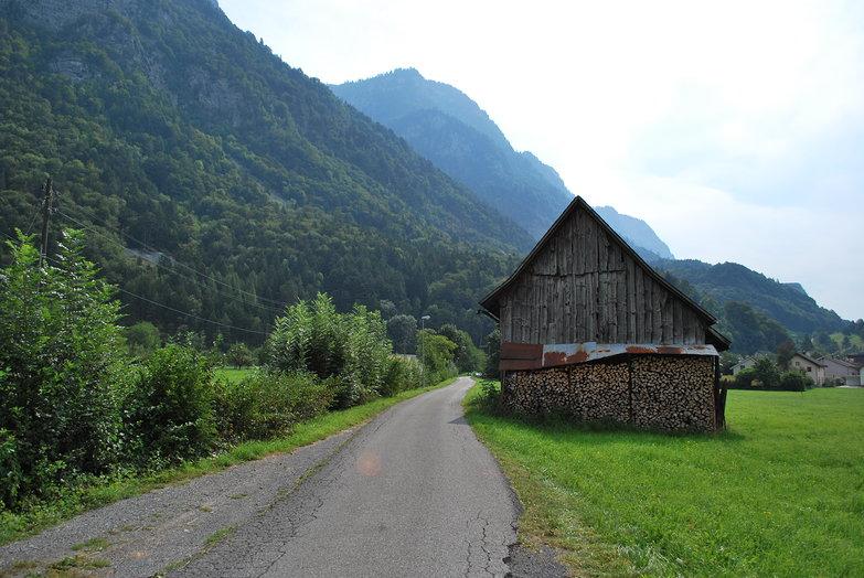 Swiss Bicycle Path