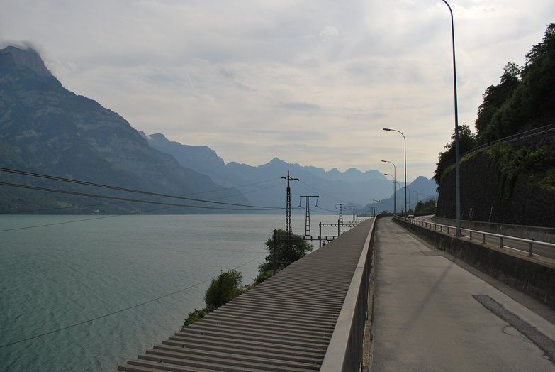 Walensee Bicycle Path