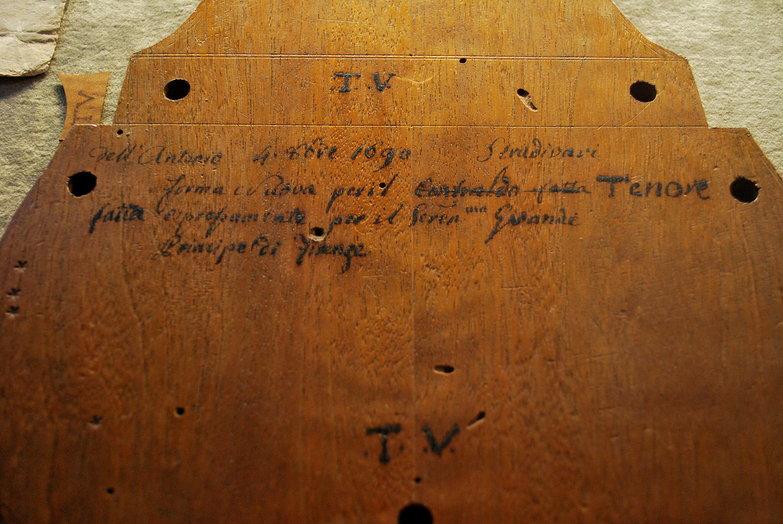 Stradivari Violin Template