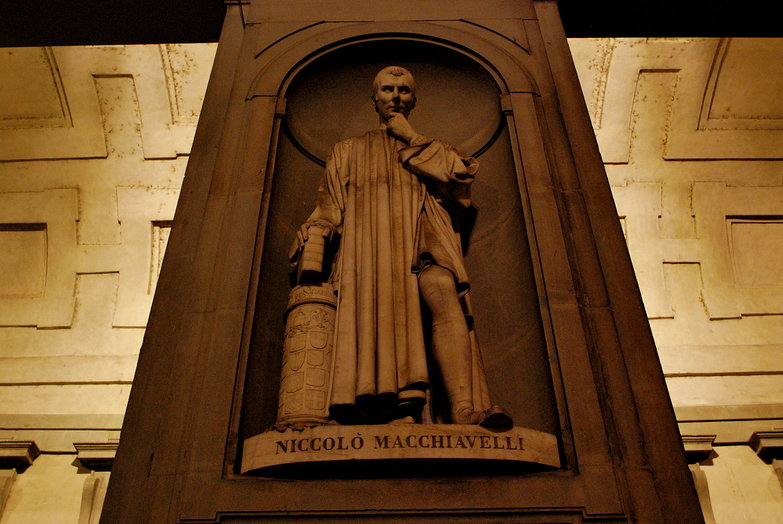 Niccolo Machiavelli @ Uffizi