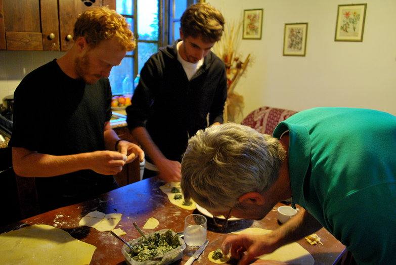 The Men Making Ravioli