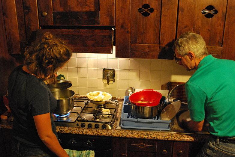 Tara & Dad Cooking
