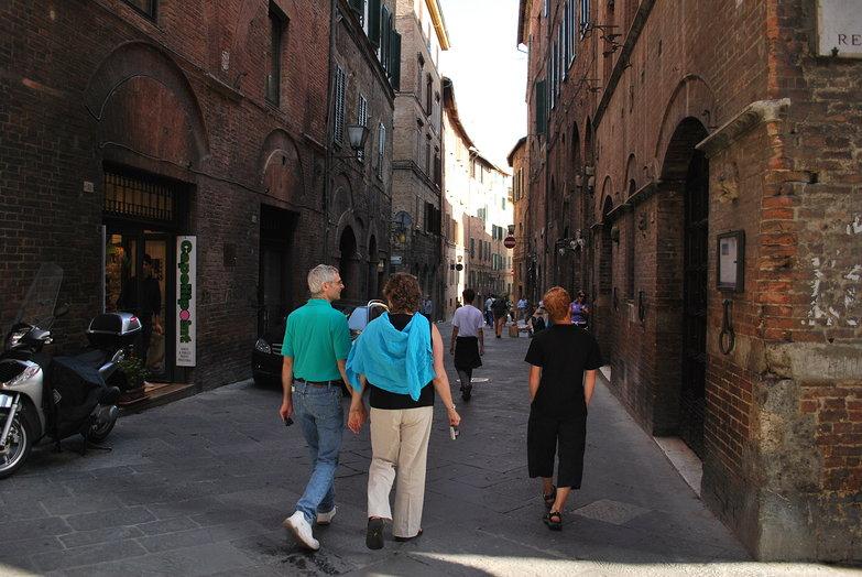 Wandering Siena
