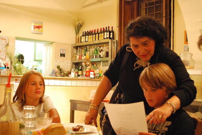Trattoria I'Nostrano Poem Translation