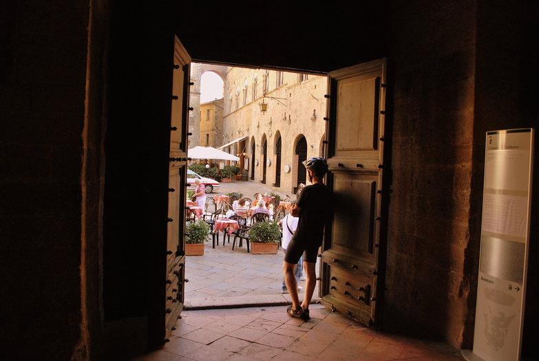 Tyler in Volterra