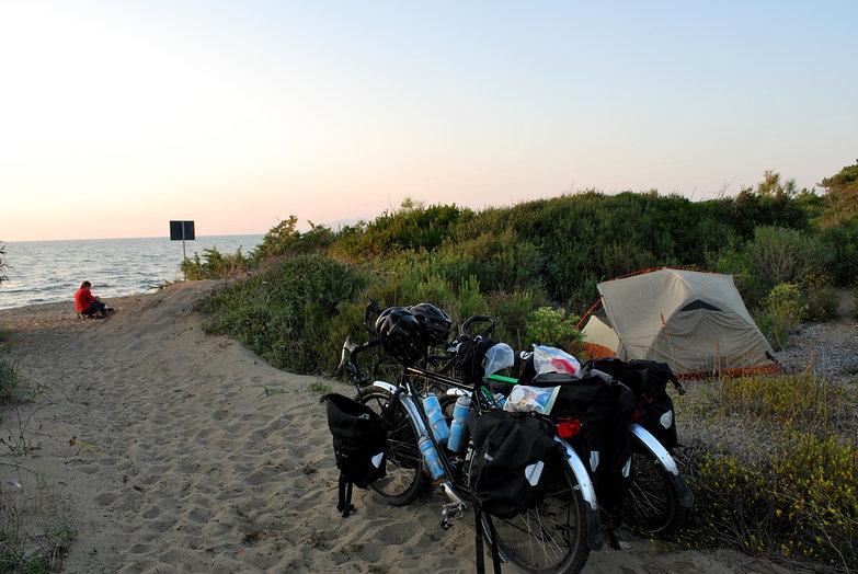 Beach Free Camp