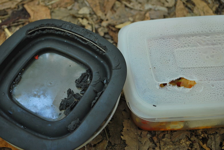 Someone Ate Our Tupperware!