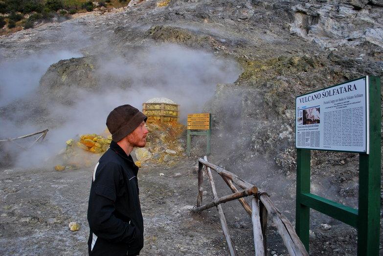 Tyler & Solfatara Volcano