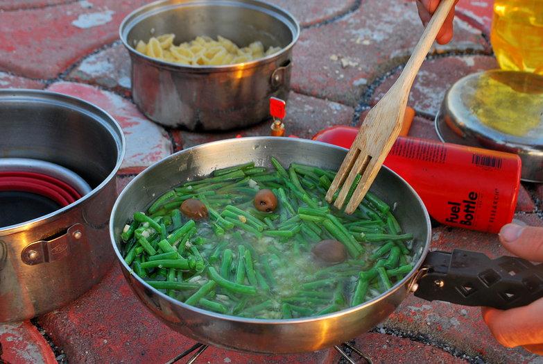 Tyler Simmering Garlic & Green Beans