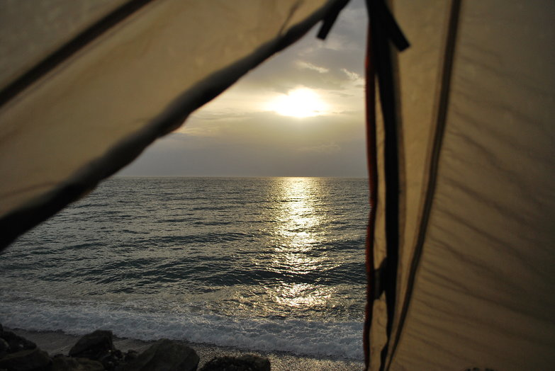 Ocean View From Tent