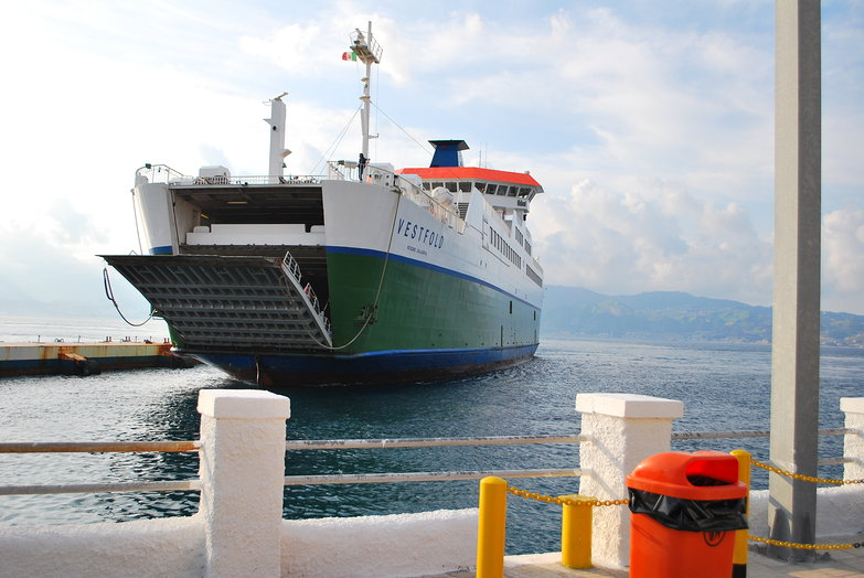 Ferry to Sicily