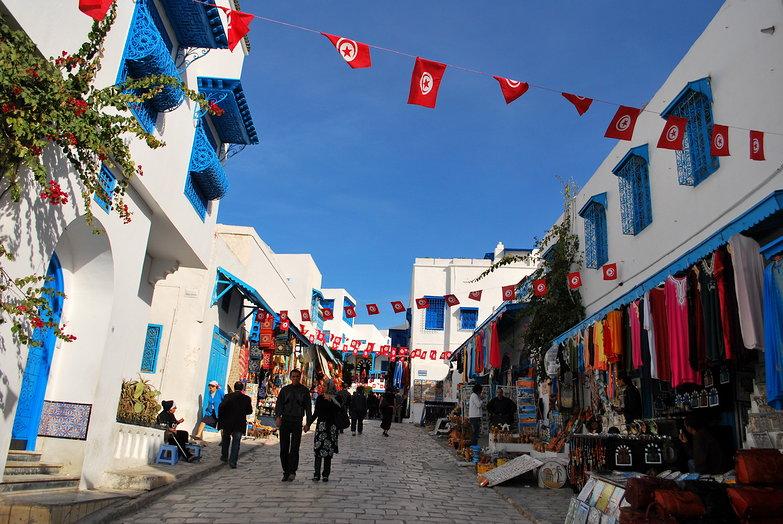 Sidi Bou Said Street