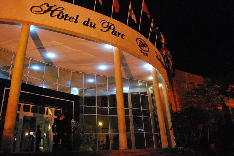 Tara at the Hotel du Parc