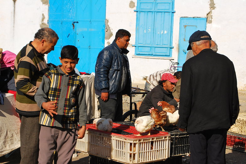 Kairouan Medina Market Kid