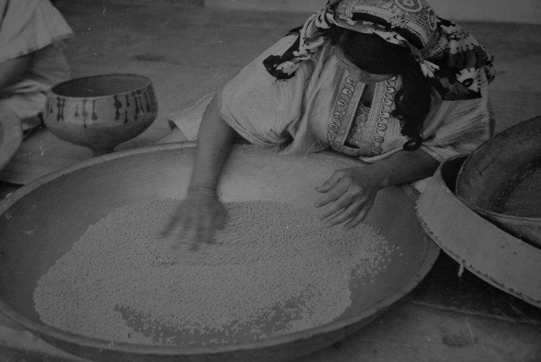 Couscous Making