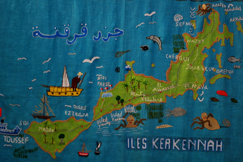 Kerkennah Tapestry Map