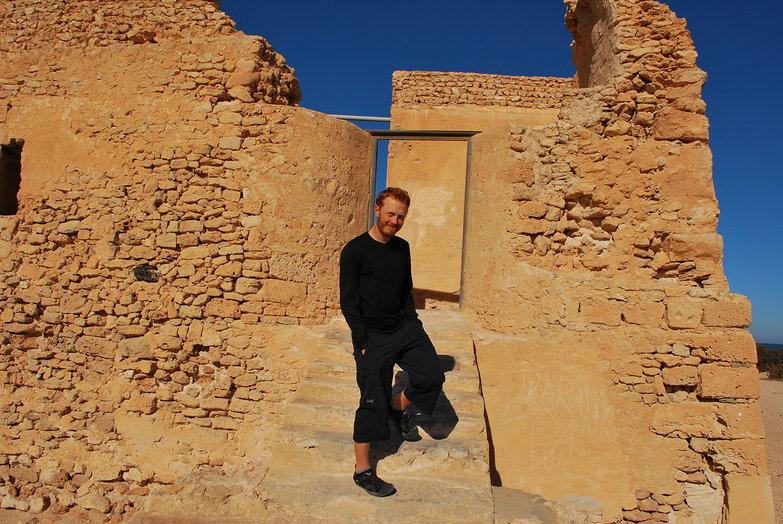 Tyler at Borj el-Hissar
