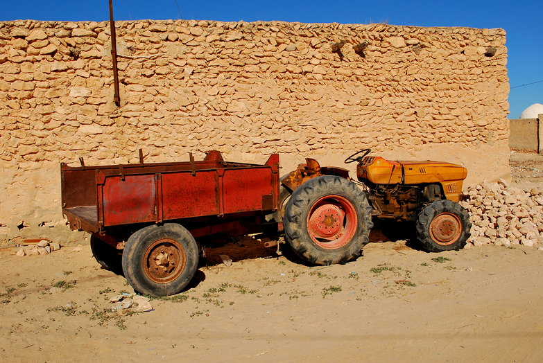 Kerkennah Tractor
