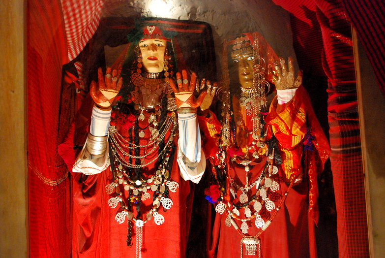 Traditional Berber Wedding Costumes