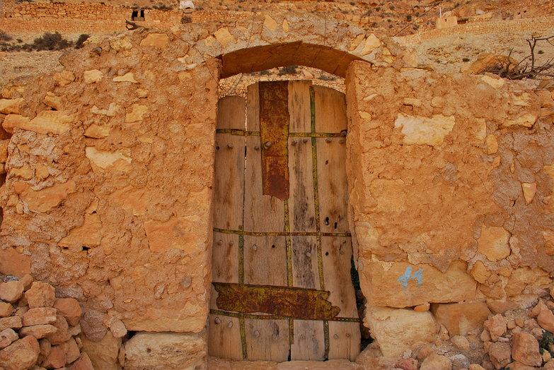 Chenini Door