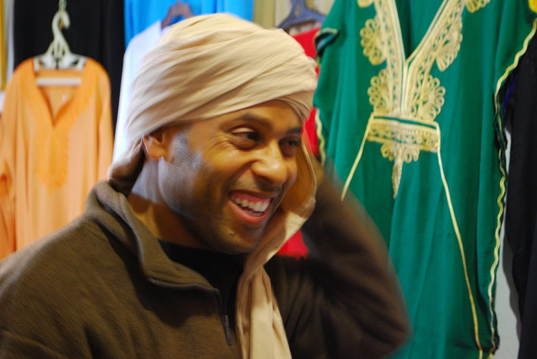 Bedouin Scarf Merchant