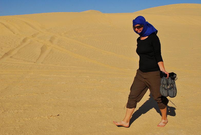 Tara Walking