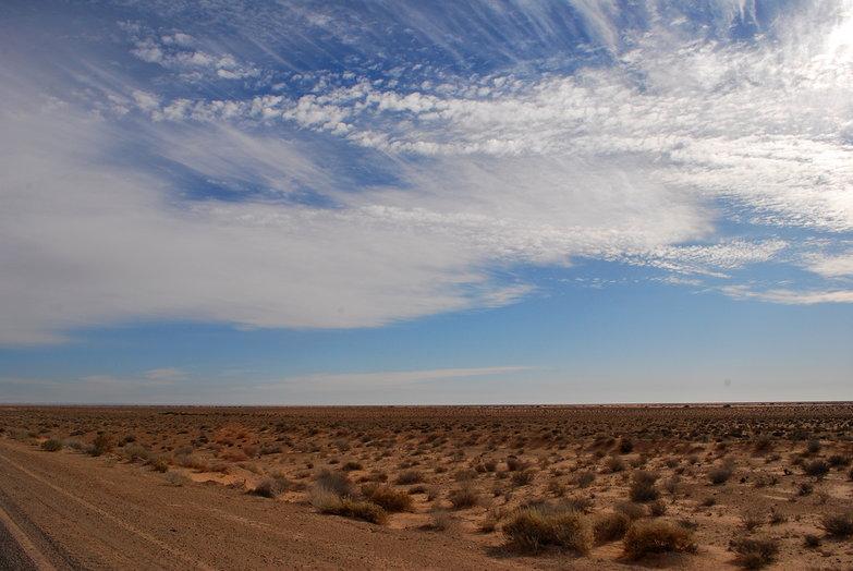 Sky Over Desert