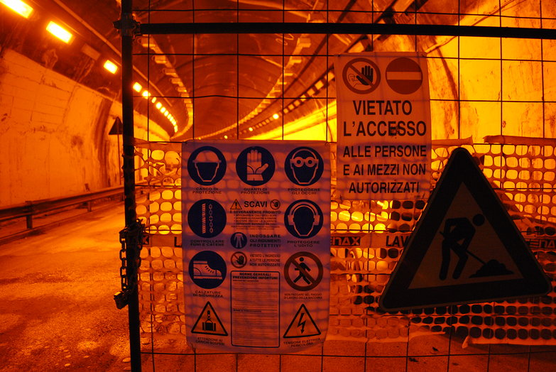 Tunnel Closed for Repairs