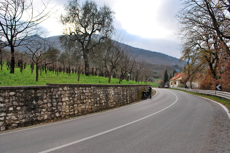 Potenza Mountain Road