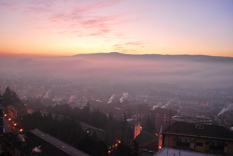 Potenza Morning Skyline