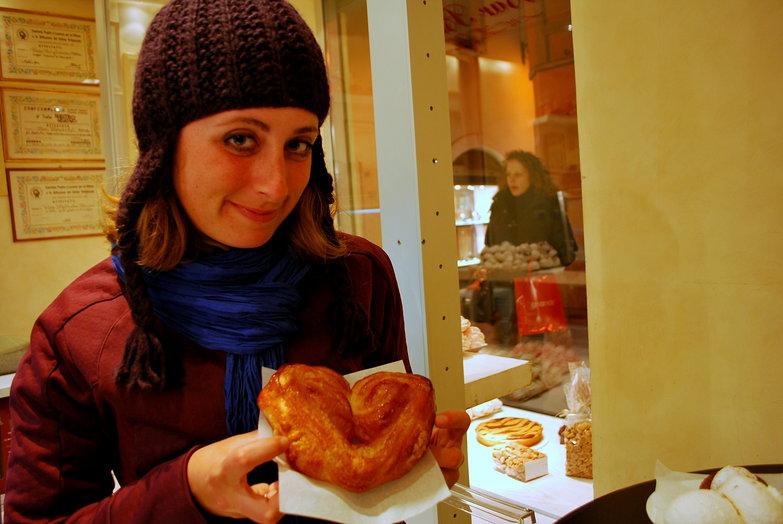 Tara & Elephant Ear Pastry