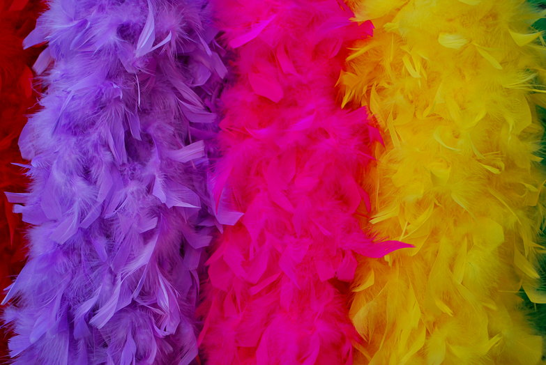 Feather Boas for Carnival