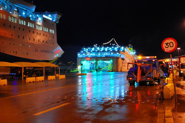 Piraeus Ferry Port