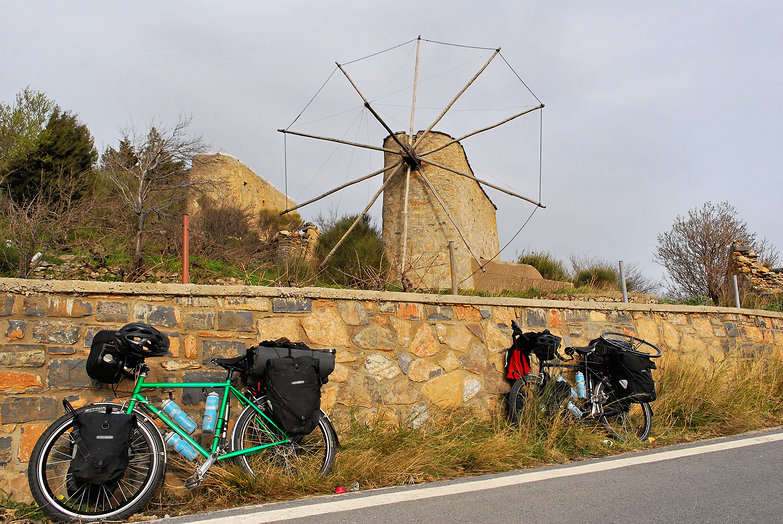 Our Bikes & Windmill