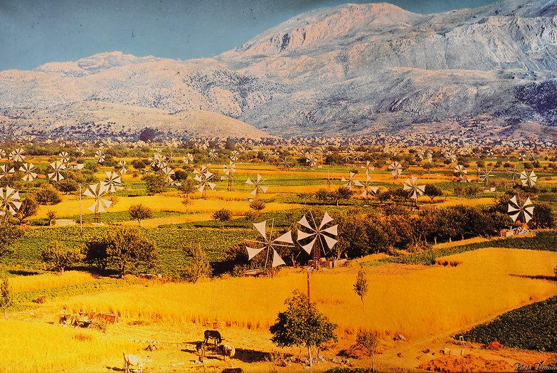 Lasithi Plateau Circa 1950