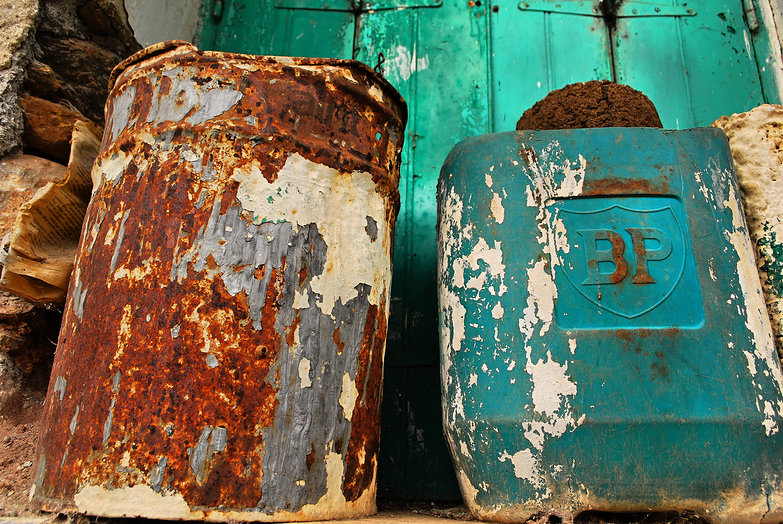 Rusty Paint Can