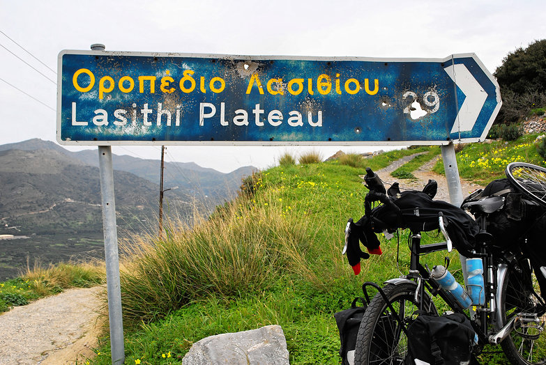 Lasithi Plateau: 29 km