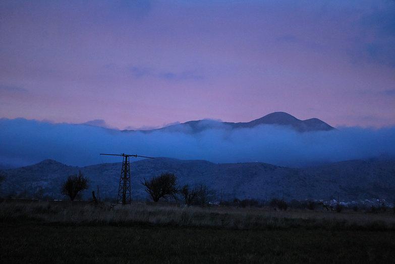 Lasithi Plateau Evening Fog