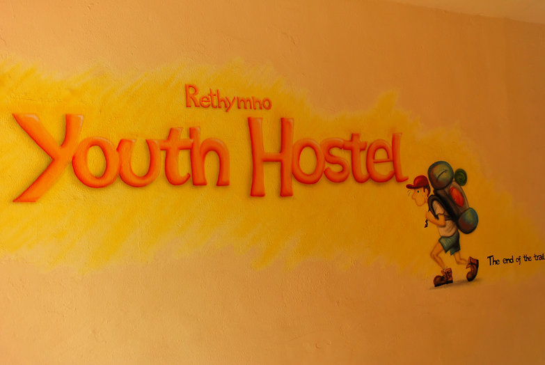 Rethymno Youth Hostel... The End of the Trail