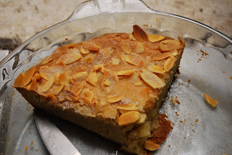Butter Almond Cake