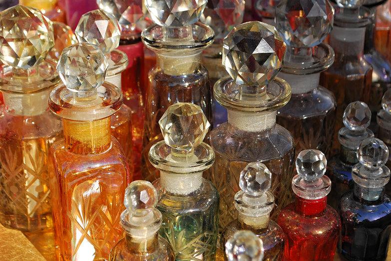 Athens Flea Market Bottles