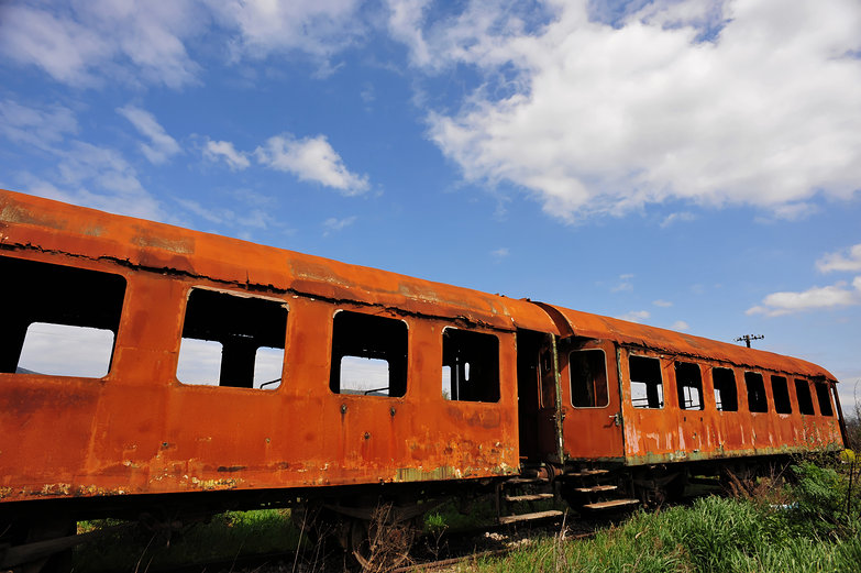 Rusted Train