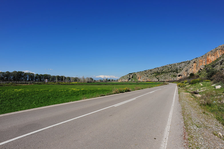 Greek Countryside Road