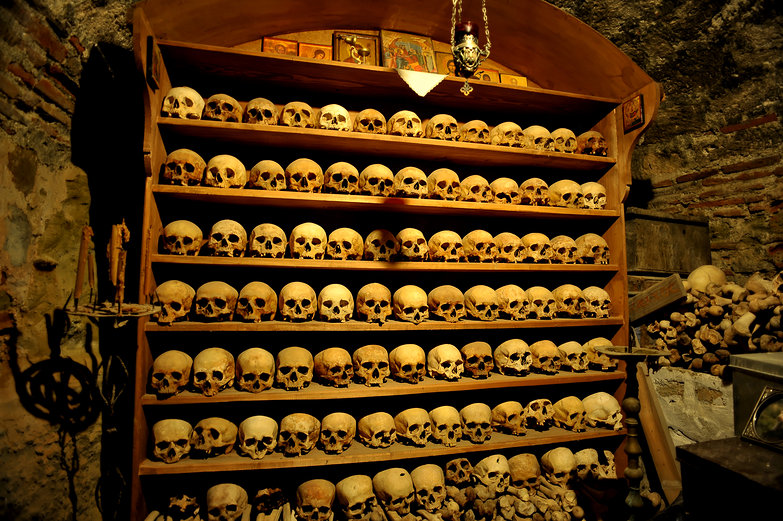 Monastery Ossuary!