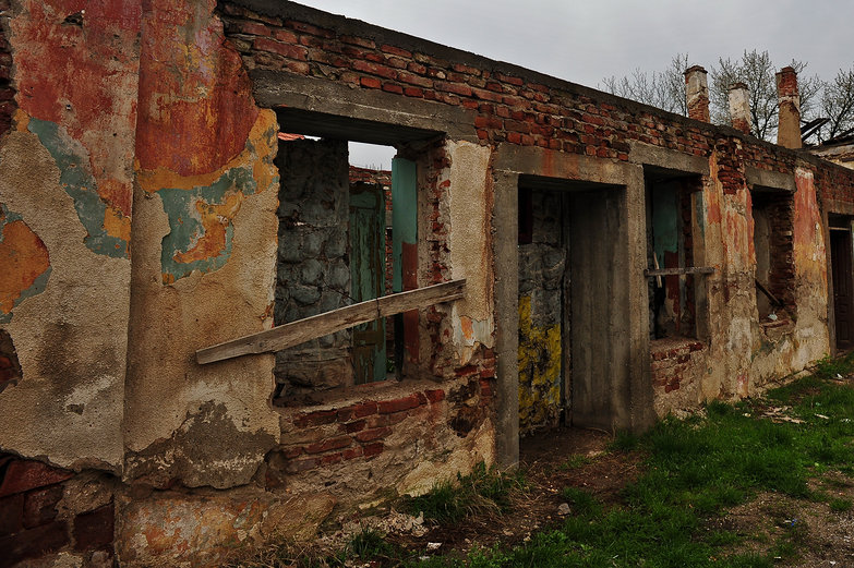 Crumbling Serbian Ruins
