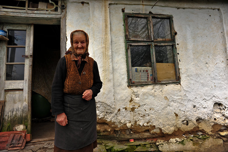 Old Serbian Woman