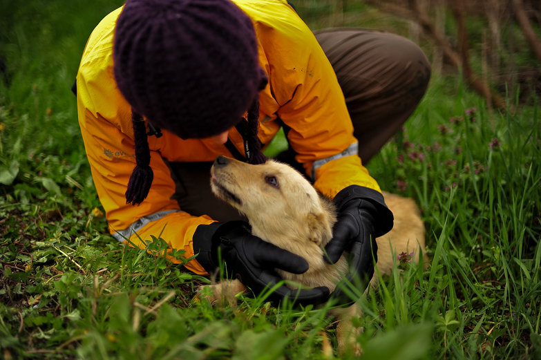 Tara & Puppy