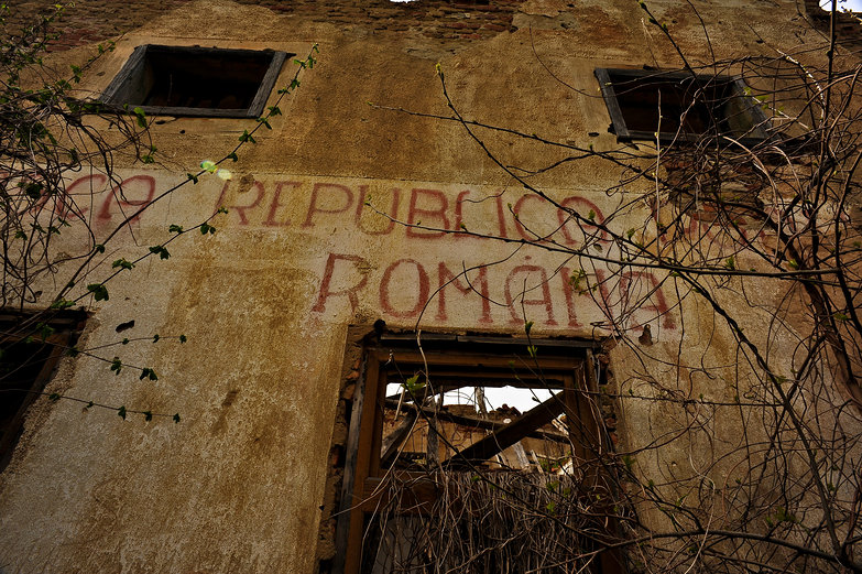 Abandoned Romanian Building